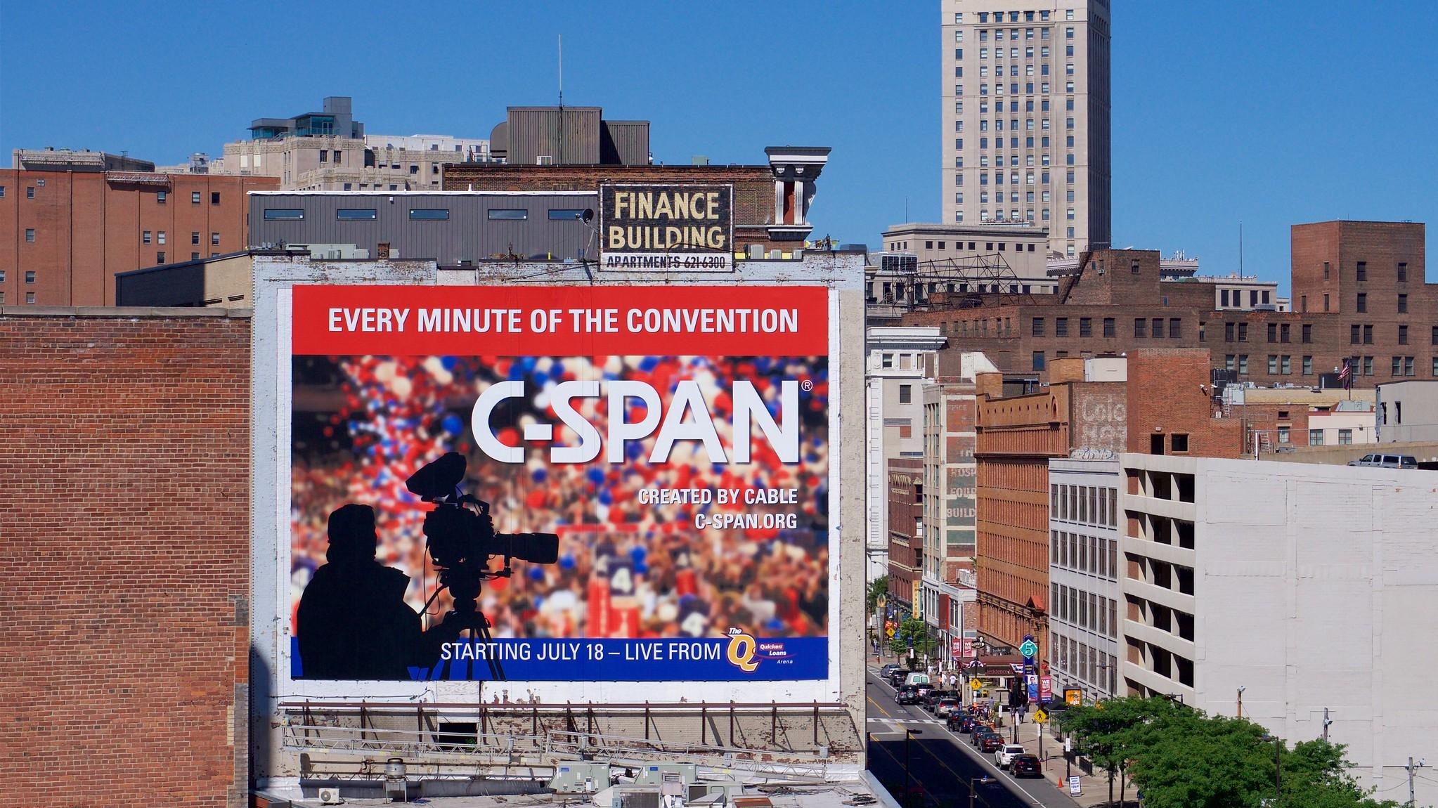 C-SPAN Billboard by Travis Estell